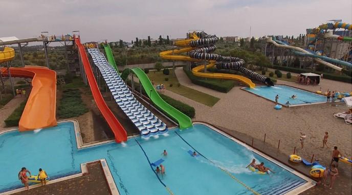 Самый большой аквапарк на юге Украины
