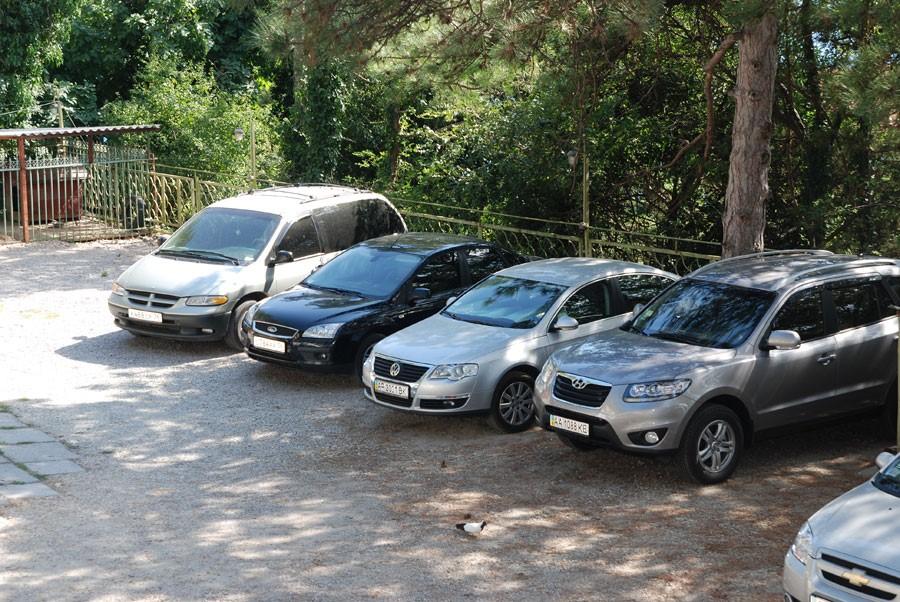 Парковка в Затоке фото