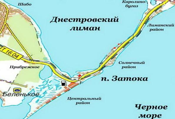Береговая линия Затоки