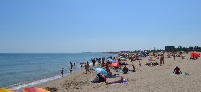 Песок в Затоке у моря